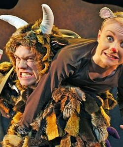 West End Production of The  Gruffalo - Josie's first job was in TIE